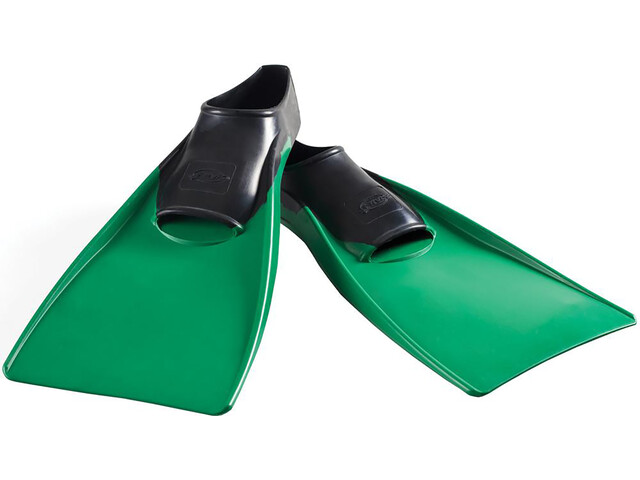 FINIS Long Płetwy, zielony/czarny